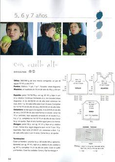 El Arte de Tejer Chicos- Revista Tricô A arte da tecelagem Meninos Lana, Crochet, Album, Knitting, Words, Knitted Owl, Knitting Machine, Weaving, Knit Sweaters