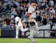 NEW YORK — The pitcher who won the American League Cy Young Award was on the mound for the Red Sox against the Yankees on Wednesday night. But once again, that trophy and all it represented seemed like another lifetime ago for Rick Porcello.