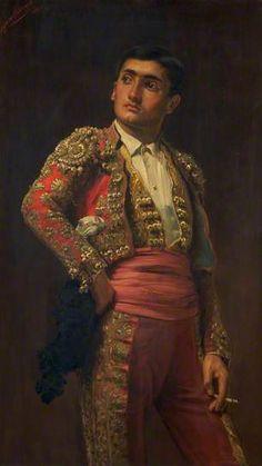 A Spanish Matador, 1880 by John Haynes-Williams (1836-1908)