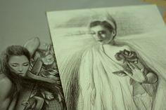 B/W disegni drawing Susy Saulle