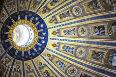 Saint Peter's Basilica's ceiling by Laurent Photography on 500px