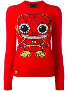 PHILIPP PLEIN Get Aware jumper. #philippplein #cloth #스웨터