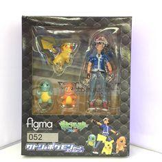 $17.63 (Buy here: https://alitems.com/g/1e8d114494ebda23ff8b16525dc3e8/?i=5&ulp=https%3A%2F%2Fwww.aliexpress.com%2Fitem%2FAnime-Figma-052-Ash-Ketchum-Pikachu-Charmander-Squirtle-PVC-Action-Figure-Doll-Kawaii-Collection-Model-Toy%2F32787892206.html ) Anime Figma #052 Ash Ketchum Pikachu Charmander Squirtle PVC Action Figure Doll Kawaii Collection Model Toy Kids Gift 3.3-12cm for just $17.63