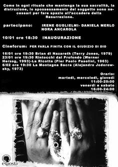 Locandina Mostra Irene Guglielmi