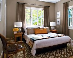 Decorating Ideas for Taupe Bedroom, the taupe colors give calming aura in your bedroom. Below are some tips of Decorating Ideas for Taupe Bedroom. Grey Brown Bedrooms, Taupe Rooms, Taupe Bedroom, Taupe Walls, Home Bedroom, Bedroom Decor, Bedroom Colors, Bedroom Wall, Brown Walls