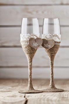 Gelin Damat Kadehi Nasıl Yapılır? | Düğün Kadehi Süsleme Fikirleri