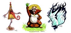 YOKAI | Yokai Batch 1 by ~Barlee on deviantART