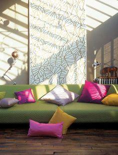 Zoom - 0466 Un tissu à découvrir dans les showrooms de l'éditeur LELIEVRE PARIS. Une sélection de la rédaction de www;source-a-id.com.