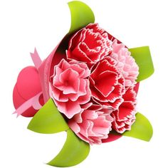 FREE DOWNLOAD Mini Bouquet (carnations),Decorative,Paper Craft,Mother's Day,present,flower,Bouquet,Event
