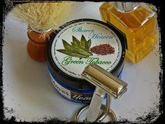 Shaver Heaven - Green Tobacco, Semogue OC Boar, brush, Gillette Rocket 1953, Aramis Devin County