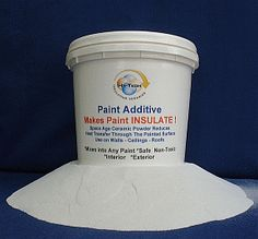 Ceramic Paint Additive Makes any Paint Insulate