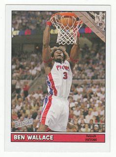 Ben Wallace # 102 - 2005-06 Topps Baz Basketball