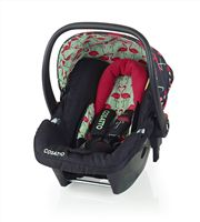 Cosatto Hold Group 0 Infant Car Seat compatible with the Cosatto Giggle 2 Travel system, featured here in Flamingo Fling Print  #cosatto #carseat