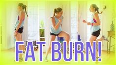 8 cardio moves that will burn fat in a quick HIIT (high intensity interval training) routine! This is the cardio portion of your Swimsuit Slimdown Series! ♥ ...