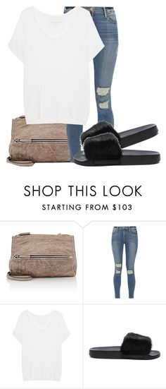 """Untitled #173"" by embxo ❤ liked on Polyvore featuring Givenchy, Frame and True Religion"