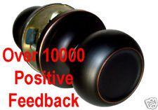Purchase Hinges and Knobs - Passage Dark Oil Rubbed Bronze Round Knobs Door knob 5765DBR