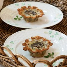 Herb and Potato Tartlets
