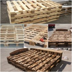 My pallet bed