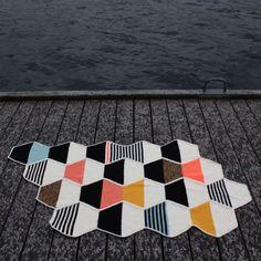 Lutter idyl: Hæklet tæppe / Crochet Blanket