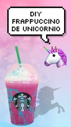 DIY: como fazer frappuccino de unicórnio do Starbucks!