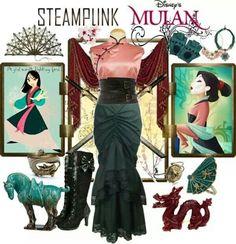 Steampunk Mulan