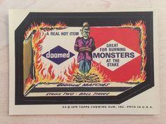 1975 Doesn't Delight Wacky Packages Topps 13th Series 13 Sticker NM Vtg Rare | eBay