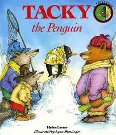 An activity kit for the Tacky the Penguin books by Helen Lester