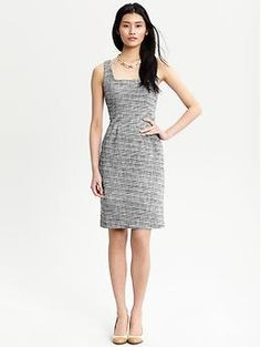 ugh, great summer work dress... for a slightly more casual office? part of me wishes it had sleeves.