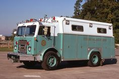 Sterling, VA Rescue Squad 1975 Brockway/Swab Heavy Rescue Squad.