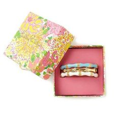 Lilly Pulitzer Resort '13- Bamboo Bangle Set