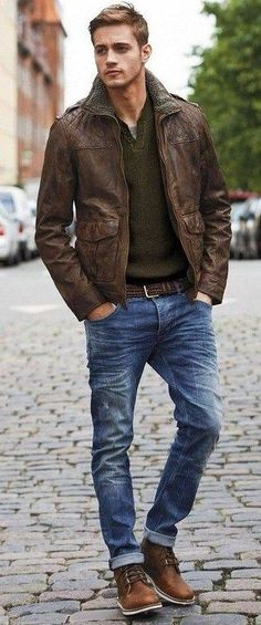 Faux leather boots and jacket. No death fashion  Mens Fashion   #MichaelLouis - www.MichaelLouis.com