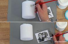 DIY Kerze