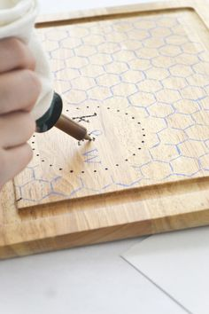 Diy Monogrammed Cutting Board