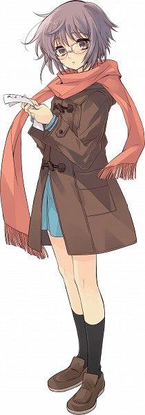 Nagato Yuki - Suzumiya Haruhi no Yuuutsu - Image - Zerochan Anime Image Board Kawaii Anime Girl, Anime Art Girl, Manga Girl, Chica Anime Manga, Otaku Anime, Sailor Moon, Beautiful Girl Names, Dragon Ball, Anime Titles