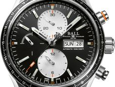 """Ball Fireman Storm Chaser Pro Watch - by James Stacey - See it glow and more on aBlogtoWatch.com """"Now that we are all knee-deep in Pre-Baselworld news, Ball has announced one of their new models in advance of this year's fair. Called the Fireman Storm Chaser Pro, this new chronograph is a distinct variation from the Storm Chaser and Storm Chaser DLC models we've seen in the past..."""""""