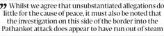 Indo-Pak peace  bumps - The Express Tribune