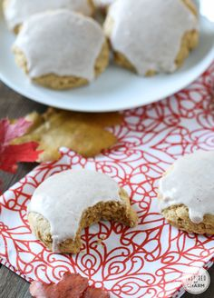 Soft Pumpkin Sugar Cookies