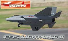 F-35 Lightning 64mm Grey RC EDF Jet PNP Version - http://www.nitrotek.co.uk/241.html