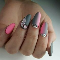 If you want to change your Manicure Style and want to wear the Best and Classical Ideas of Nail Trends then you Elegant Nail Designs, Toe Nail Designs, Beautiful Nail Designs, Beautiful Nail Art, Acrylic Nail Designs, Classy Nails, Trendy Nails, Matte Nail Polish, Nail Nail