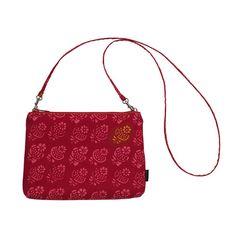 Marimekko Hedelmakori Red/Pink/Orange Limetti Bag $85.00