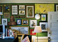 Hmm, maybe one day I'll learn to put together an awesome wall collage like this one.