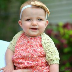 Darcy's Vintage Shell Shrug (Free Crochet Pattern and beginner-friendly photo step-by-step tutorial!). Sizes 3-6 and 6-12 months included, plus guidelines to adapt to ANY size through adult.