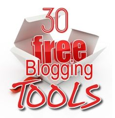Check out 30 free tools for blogging preferred by probloggers.