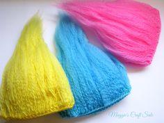 Crochet Troll Wig Hair, Hat prop, Photo prop, mythical creature, goblin, dwarf troll hair, baby hat, gnome beanie, baby costume hair