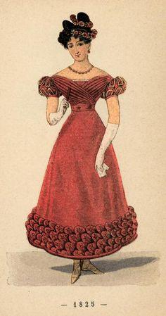 Fashion History 1800s: Un Siecle De Modes Feminines 1825