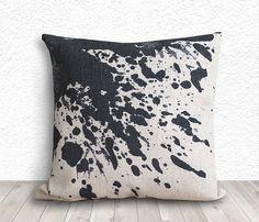 Ink Pillow Cover Pillow Cover Pillow Case Linen by 5CHomeDecor, $14.99