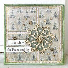 MAJA DESIGN JULEKORT - KREATIV SCRAPPING BLOGG - DT SIGRID I Card, Vintage World Maps, Decorative Boxes, Scrap, Joy, Peace, Design, Home Decor, Creative