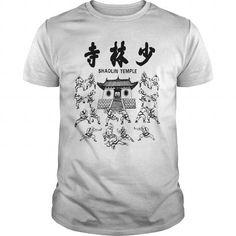 I Love Shaolin Temple T-Shirts