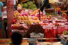 nachtmarkt in asien