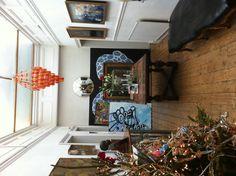 Christmas hallway